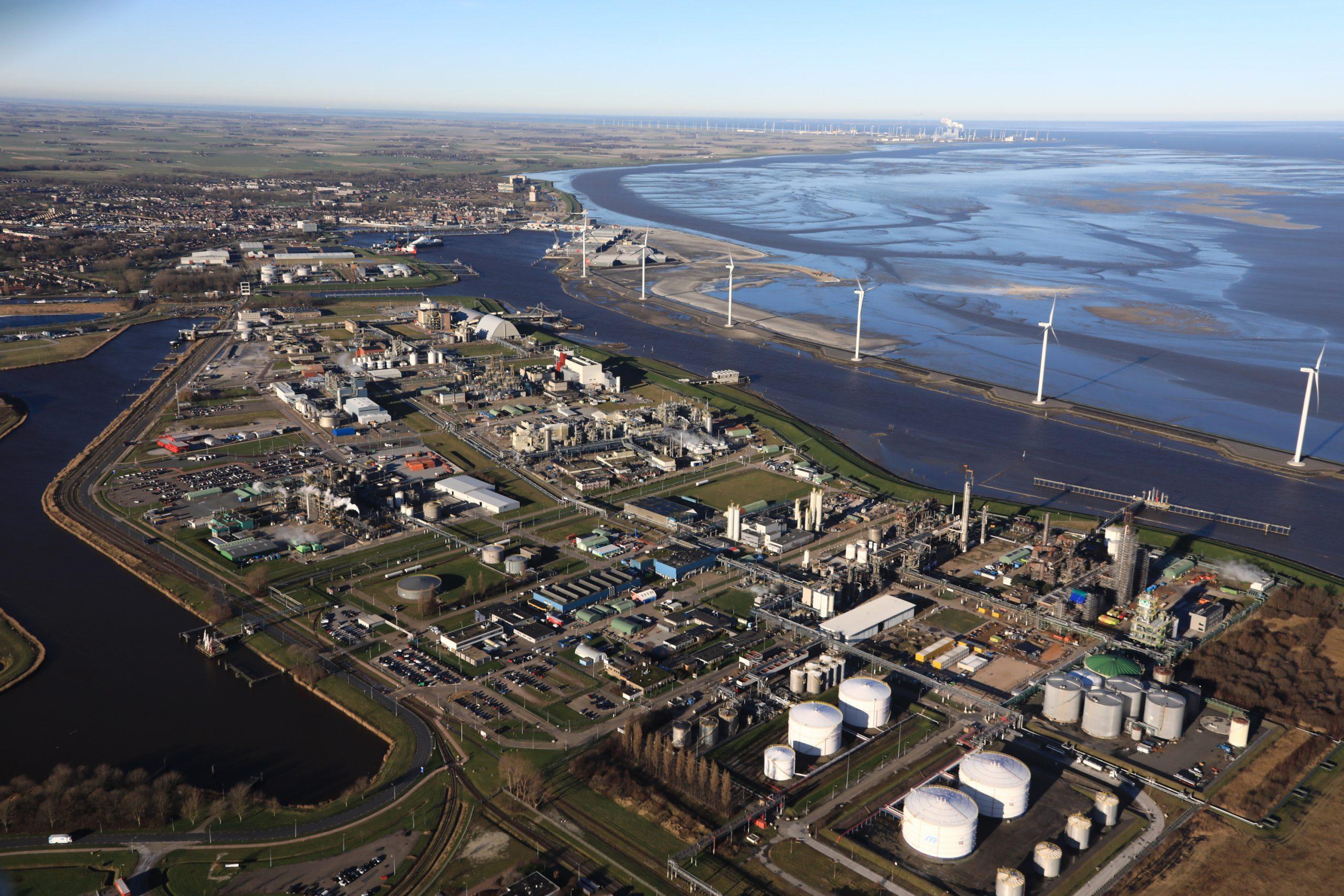 Chemie Park Delfzijl en Eemshaven